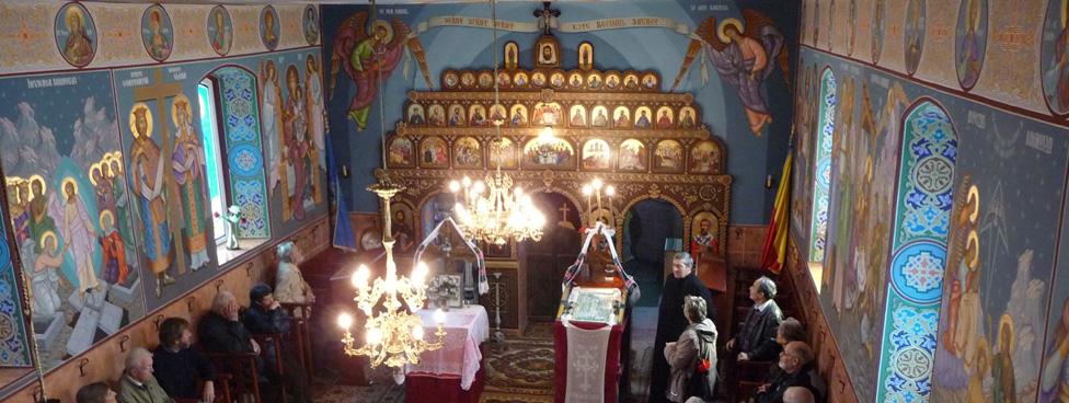 Rumänisch-orthodoxe Kirche in Leschkirch